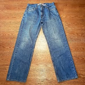 Levis Mens 569 Loose Straight Jeans Size 32X34